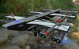 """""""Quái vật bay"""" VVP-6 của Liên Xô chưa bao giờ cất cánh"""