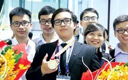 Chàng trai vàng Hóa học tham dự Đại hội Đảng