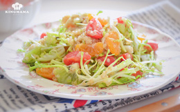 """Để giảm cân siêu tốc đón Tết, chị em hãy ăn mỗi ngày món salad """"thần thánh"""" này"""