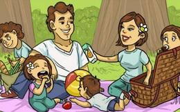 Giải đố trong 5 giây: Bạn hãy tìm ra chi tiết phi lý trong bức tranh đi picnic
