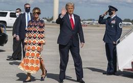 Video bà Melania Trump 'mặt lạnh' bước qua ống kính gây sốt