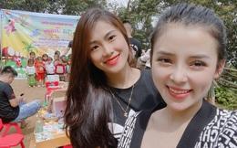 Hot girl Phạm Ngọc Linh tặng áo ấm cho trẻ em vùng cao