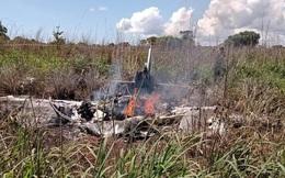 Tai nạn máy bay khiến ông chủ và 4 cầu thủ đội bóng tử nạn
