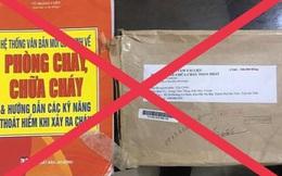 Cảnh báo chiêu lừa mua tài liệu phòng cháy, chữa cháy