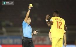 """Trưởng Ban trọng tài: """"Ngoại binh Hà Tĩnh bị thẻ đỏ liền quay ra chửi trọng tài"""""""