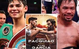 Tài năng trẻ Ryan Garcia xác nhận sẽ thượng đài cùng huyền thoại Manny Pacquiao