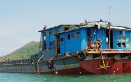 Ngư dân Bình Định phát hiện tàu hàng vô chủ trên vùng biển Quảng Ngãi