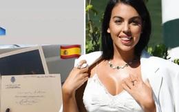 Hành động cao đẹp, bạn gái Ronaldo nhận món quà ý nghĩa từ Hoàng gia Tây Ban Nha