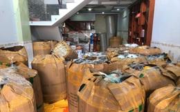 """Phát hiện gần 4.200 nón bảo hiểm nghi giả mạo """"Nón Sơn"""" ở Sài Gòn"""