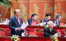 Thủ tướng Nguyễn Xuân Phúc điều hành thảo luận dự thảo Văn kiện trình Đại hội XIII