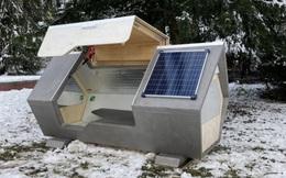 """Thành phố ở Đức thử nghiệm phòng ngủ """"kén tằm""""giúp người vô gia cư vượt qua mùa đông khắc nghiệt"""