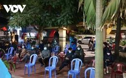 Ảnh: Những chốt phòng dịch trong đêm ở Quảng Ninh