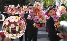 Cận cảnh sính lễ xa xỉ trong đám cưới Phan Thành - Primmy Trương: nhìn chỉ muốn 'loá mắt' vì ghen tị