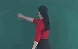 Netizen quốc tế phát sốt cảnh giáo viên Việt Nam vẽ đường tròn bằng tay không, lượt like, share tăng chóng mặt