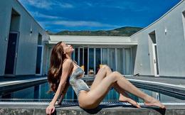 Hồ Ngọc Hà tung ảnh bikini, khoe vóc dáng sau 2 tháng sinh đôi