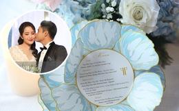 Lộ diện thực đơn tiệc cưới Phan Thành - Primmy Trương: ấn tượng chưa từng thấy, gây choáng với loạt sơn hào hải vị đắt tiền