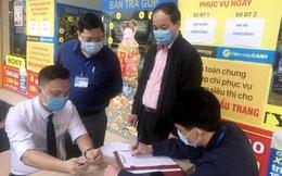 Phạt 4 triệu đồng cửa hàng điện máy ở Quảng Ninh vi phạm quy định phòng, chống dịch Covid-19