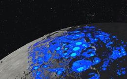 Giả thuyết mới: Nước trên Mặt Trăng do 'gió' từ Trái Đất thổi sang