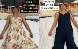 """Vợ """"lợi dụng"""" chồng ngủ để bắt làm người mẫu, mặc từ váy đầm đến croptop để đăng bán online rồi viral khắp MXH"""