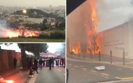 """Fan nổi giận đốt phá trụ sở CLB hàng đầu nước Pháp: Cầu thủ ăn """"đạn lạc"""" và 25 người bị bắt giữ"""