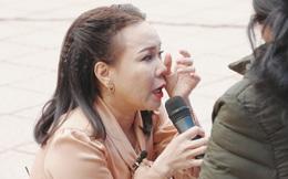Việt Hương: Tôi xin lỗi khán giả vì đã khóc