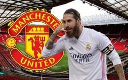 MU trở thành ứng viên số 1 trong cuộc đua giành chữ ký Sergio Ramos