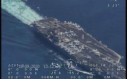 """Mỹ """"cắm chốt"""" tàu sân bay ở nơi trọng yếu: Quyết dằn mặt Iran ngay thời điểm nhạy cảm"""