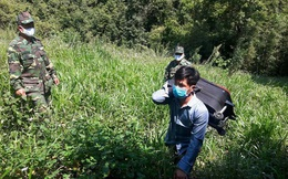 Biên phòng Lai Châu bắt giữ, tiếp nhận 31 người vượt biên trái phép từ Trung Quốc về Việt Nam