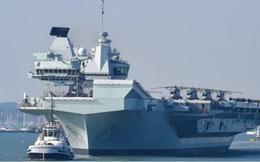 Tàu sân bay Anh sẵn sàng đến biển Đông
