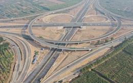 Cận cảnh nút giao 400 tỷ đồng kết nối Vành đai 3 với cao tốc Hà Nội - Hải Phòng