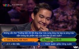 Trần Đặng Đăng Khoa - người đầu tiên chơi đến câu 15 ở Ai Là Triệu Phú: Nghe MC đọc xong đã biết không trả lời được nhưng tính tôi thế!