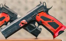 Khẩu súng ngắn có độ chính xác cao nhất của Nga, ngang súng bắn tỉa