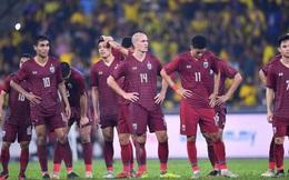 Tuyển Thái Lan gặp mối lo lớn giữa cuộc đua đầy cam go với tuyển Việt Nam