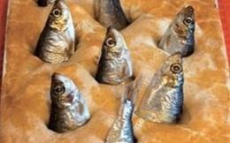 Món ăn kinh dị khiến thực khách hoảng hồn vì toàn đầu cá