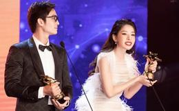 """Chi Pu xúc động khi thắng giải """"Nữ diễn viên được yêu thích nhất"""""""