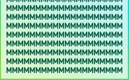 Thách thức thị giác: Đố bạn tìm ra chữ cái 'lạc loài' trong vòng 10 giây