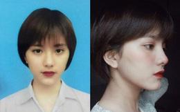 Ảnh thẻ cuốn hút của cô gái Thanh Hoá và chia sẻ về quá khứ buồn đằng sau ngoại hình khác biệt