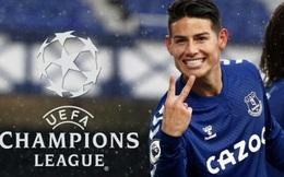 """James Rodriguez: """"Everton đủ trình độ đá Champions League"""""""