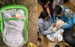 """Em bé bị bỏ rơi trước cổng chùa, lá thư để lại khiến tất cả thở dài: """"Xin lỗi con trai của mẹ"""""""