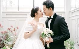 Ảnh cưới của MC Thùy Linh và diễn viên Hiếu Su