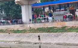 Hà Nội: Phát hiện thi thể nam giới nổi trên sông Tô Lịch