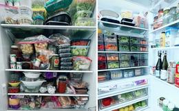 """Chiếc tủ lạnh đầy ắp đồ ăn được """"lột xác"""" một cách ngoạn mục khiến ai cũng ao ước"""