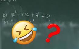 Giáo viên yêu cầu giải bài Toán cơ bản, học trò 'cợt nhả' ghi một dòng xem xong chỉ muốn cho 0 điểm