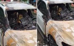 Xe sang Volkswagen Tiguan bốc cháy dữ dội lúc 1h sáng ở Quảng Ninh