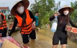 Phó Chủ tịch huyện ở Quảng Nam: 'Ca sĩ Thủy Tiên trao tiền cho bà con xong, tôi là người ký chứng nhận'