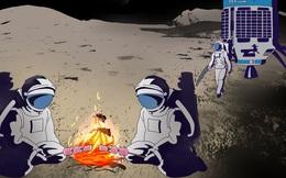 Thử tài phán đoán: Bức tranh 3 nhà du hành vũ trụ này có gì sai?