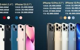 iPhone 13 chính hãng bắt đầu cho đặt hàng từ hôm nay