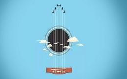 Bạn nhìn thấy bầu trời hay đàn guitar? Câu trả lời sẽ tiết lộ lý do vì sao bạn chưa thành công, giàu có