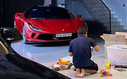Nguyễn Quốc Cường khoe Ferrari F8 Tributo trong tình trạng khiến dân tình ngỡ ngàng, chuẩn bị đưa vợ lượn khắp Sài Gòn sau 4 tháng 'chôn chân'