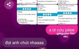Nữ sinh nhờ bạn trai làm hộ bài thi online, giải vèo chỉ trong 15 phút, lúc sau tái mặt khi đọc kết quả